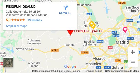 Mapa FISIOFUN IQSALUD